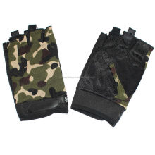 Camouflage Men Summer Sports Cycling Riding Half Finger Gloves