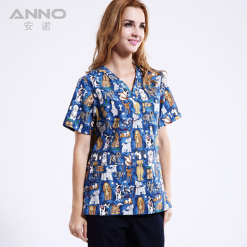 2019 High Quality Hot Sale Hospital Medical Scrubs Comfortable Uniform