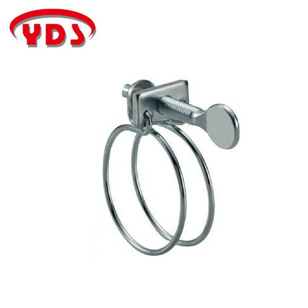 evereon, yds Double wire metal pipe clamp for pipeline of garden and greenhouse