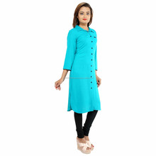 Prapun emerald turquoise khadi cotton plain