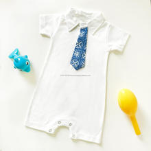 newborn Baby Tie Romper Batik Clothing 100% Cotton