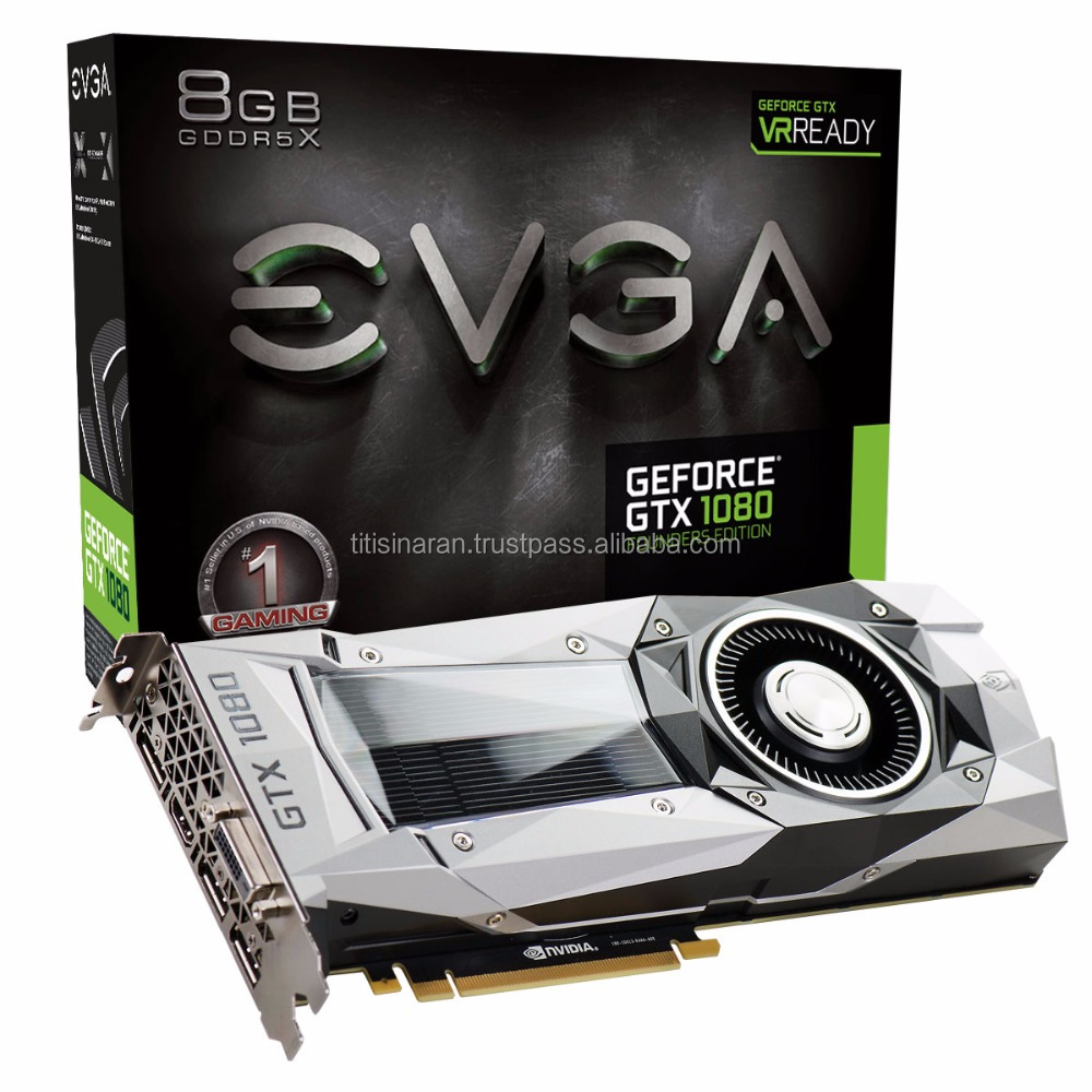 EVGA GeForce GTX 1080 Ti FOUNDERS EDITION GAMING 11GB GDDR5X LED DX12 OSD Support