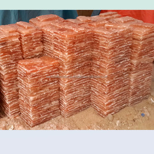Rock salt bricks for salt rooms and spa