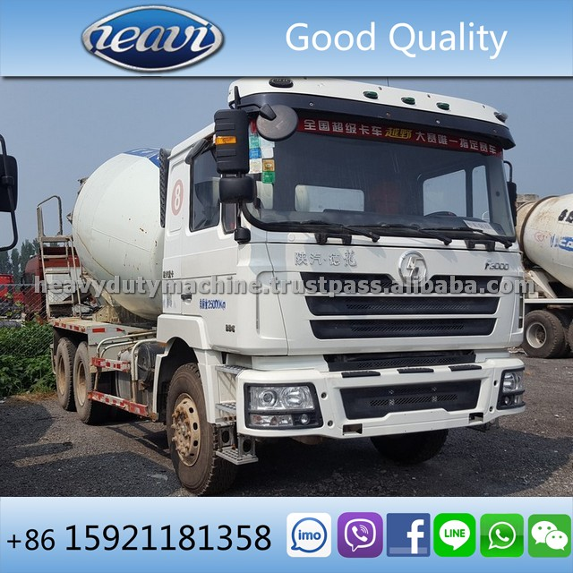 Used Shacman F3000 Mixer Truck