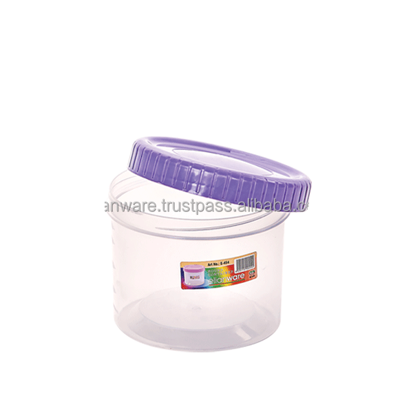 Malaysia Cookies Food Storage Round Plastic Container