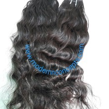 wholesale cheap loose wave natural raw indian human hair extension, factory price 100% virgin indian hair