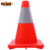 Easy to operate PVC material durable construction sites warning road cone