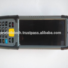 Industrial handheld PDA with 2D barcode reader Biometric fingerprint scanner UHF RFID reader