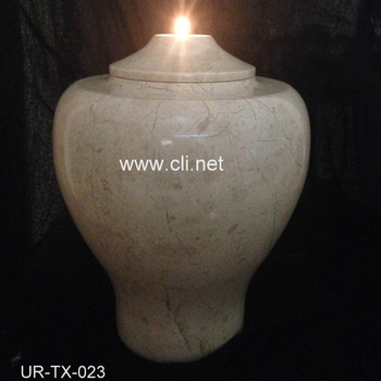 Verona Marble Candle Holder Cremation Urns in Wholesale Cheap price
