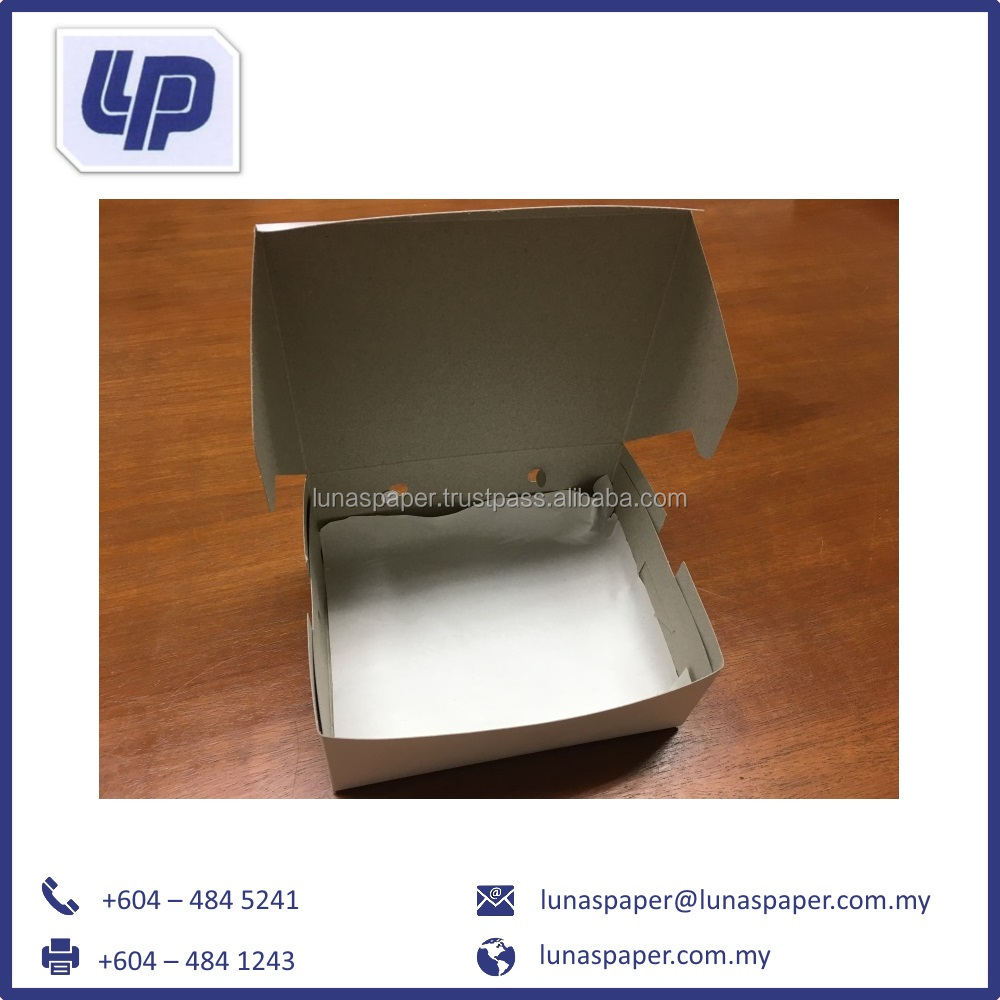 Western Packaging Food Grade Box + Oil Absorption Paper