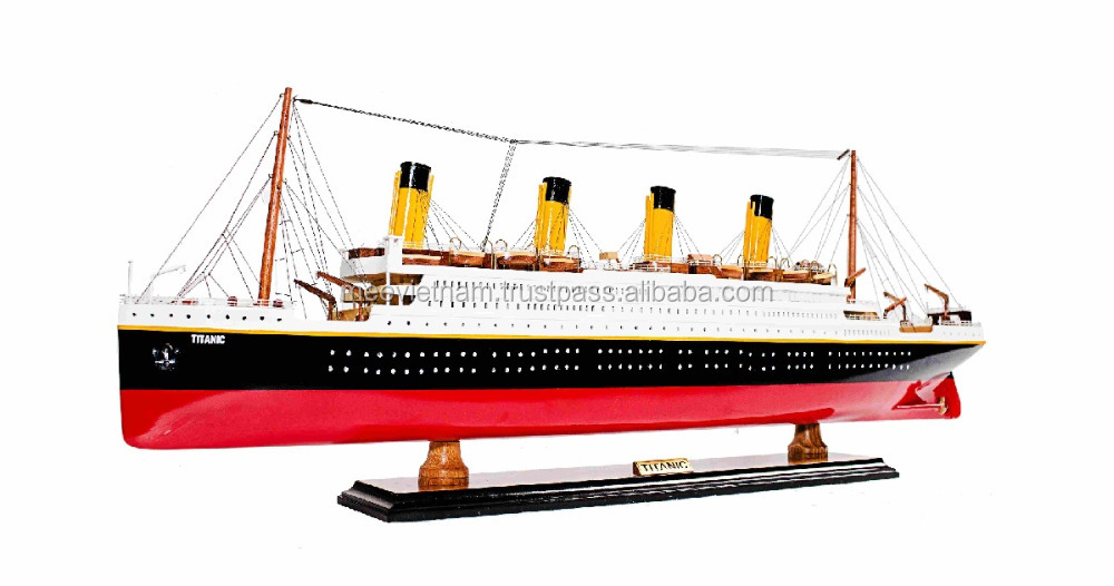 HSM TITANIC CRUISESHIP MODEL- VIETNAM HIGH QUALITY HANDICRAFTED WOODEN CRUISESHIP MODEL, HOME DECORATION