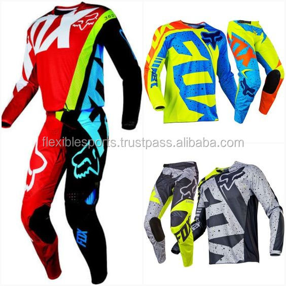 Motocross Mx trouser pant best quality leather customize bmx knee protection gear