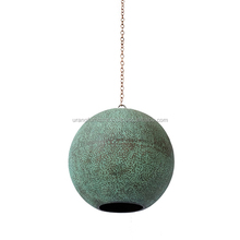 cheap decorative copper pendant lights for home biduri hanging lamps