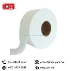 100% Pure Pulp Jumbo Toilet Paper Roll Tissue with 2 Ply Comfort Soft Pulp Paper, IMEC KJ Pulp
