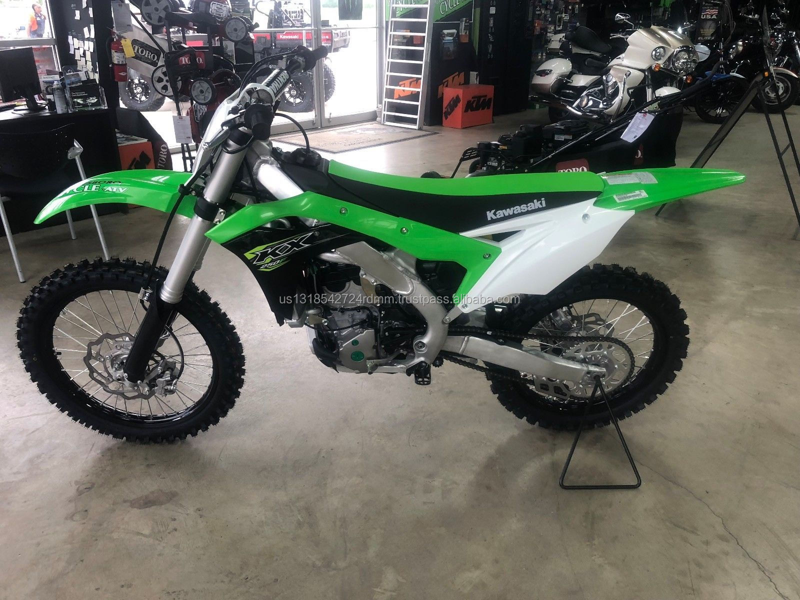 Factory Sealed 100% Authentic 2018 KAWASAKI KX250F KX252 KX KX250 250 Off-Road Dirtbike