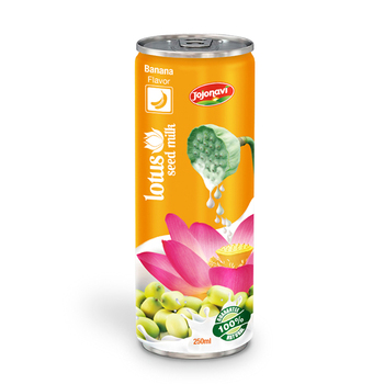 250ml Lotus Seed Milk With Banana Flavor JOJONAVI beverage brands
