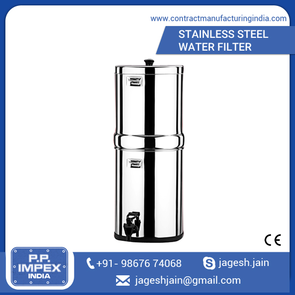 Stainless Steel Water Filter for Household or Industrial Use