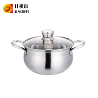 304 Stainless Steel Soup Pot arc stainless steel casserole pot