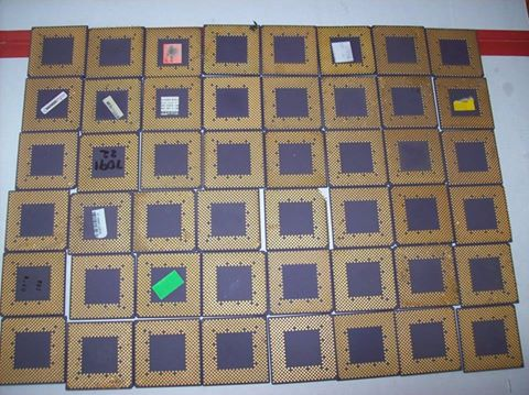 AMD ceramic cpu scrap for sale