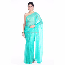 Soundarya bhagalpuri silk saree with bandhej blouse piece for ladies