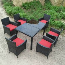PE Poly Rattan Outdoor / Garden Furniture - Dining set