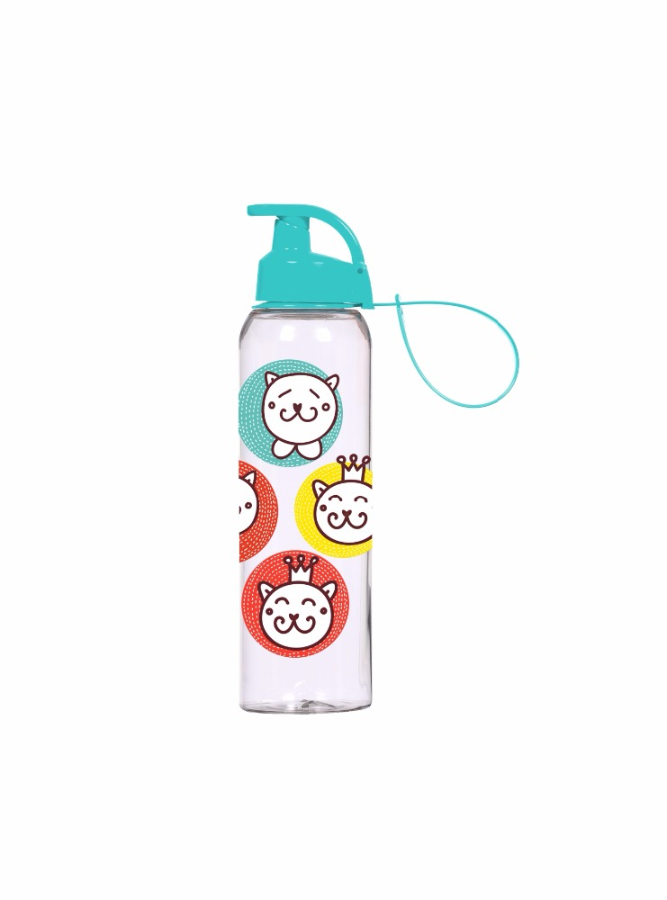 New Products 2017 Outdoor Portable Squeeze Sports Drink Bottle PC Decorated Water Bottle