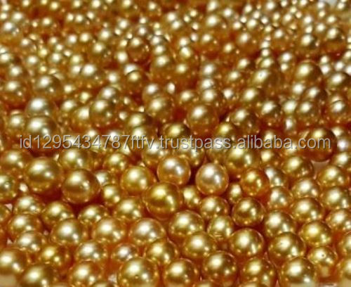 9-11mm Wholesale Golden South Sea Pearl From indonesia