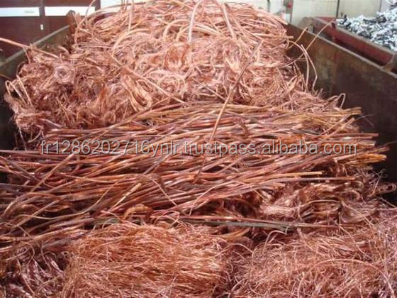 Bright Copper Wire Millberry Scrap 99.99% Purity for Sale