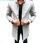 Winter Outerwear custom logo mens Fashion long trench coat wholesale