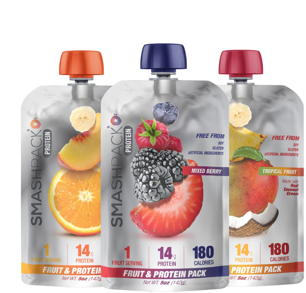 Hot Sales Smash Pack - Real Fruit & Protein Snack Pack