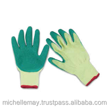 Malaysia Glass Handling Latex Gloves