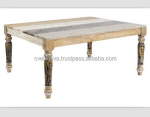 Square Solid Wood Dinning Table Home Furniture