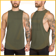 Gym Tank Tops Low Cut Armholes Vest Sexy Men's Tank Muscle Man's Soild Related images, Curved Hem Tanktop, Curved Bottom Tanktop