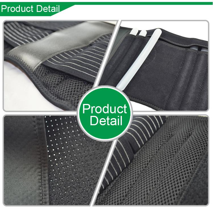 Article 6021 ceinture de soutien de taille de haute qualité soutien du bas du dos