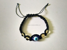 Citrine With Dragon Eye Bracelet Beaded Healing Nazar Bracelet