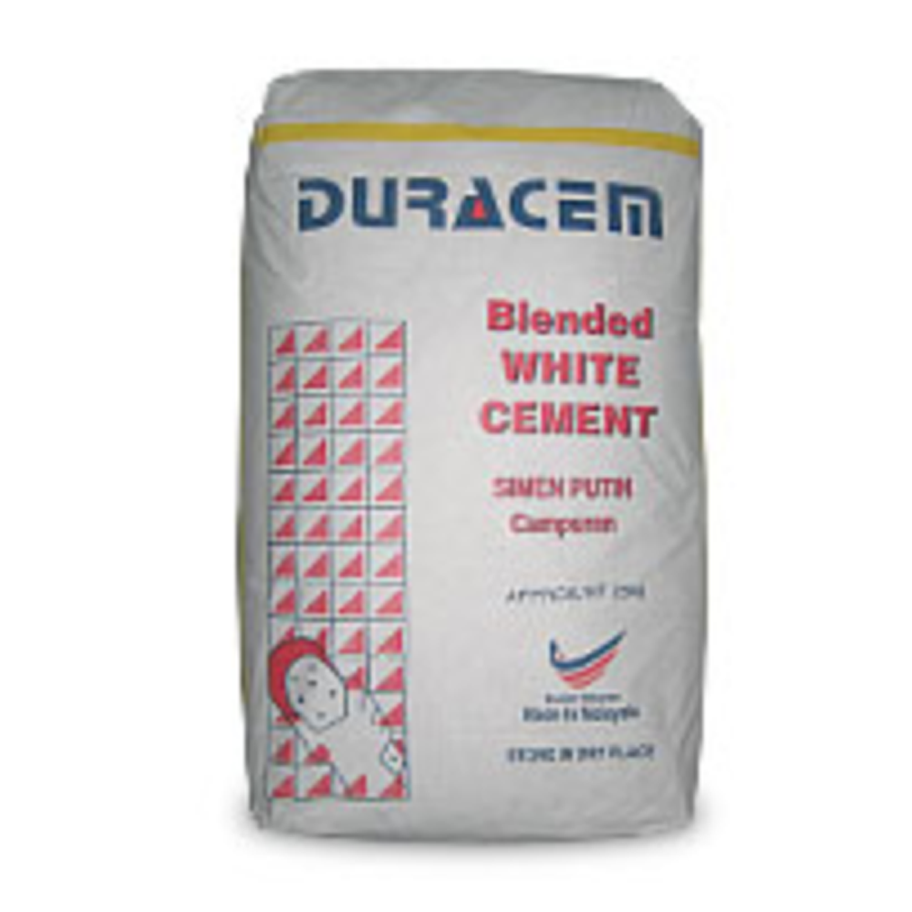 Duracem Blended White Cement building and construction material