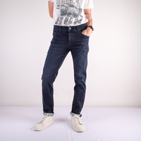Super Stretch Straight Fit Ogle jeans No.5100015 Wholesale Made in thailand 100% Premium High Quality 12 OZ jeans