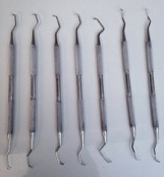 Goldman Fox Dental Scalers Set Dental Tools Dentists Instruments GM1609