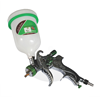 Chrome Plated HVLP Spray Gun With Upper Nylon Cup/ Chrome Plated Compact Spray Gun With Lower Steel cup Spain Modal