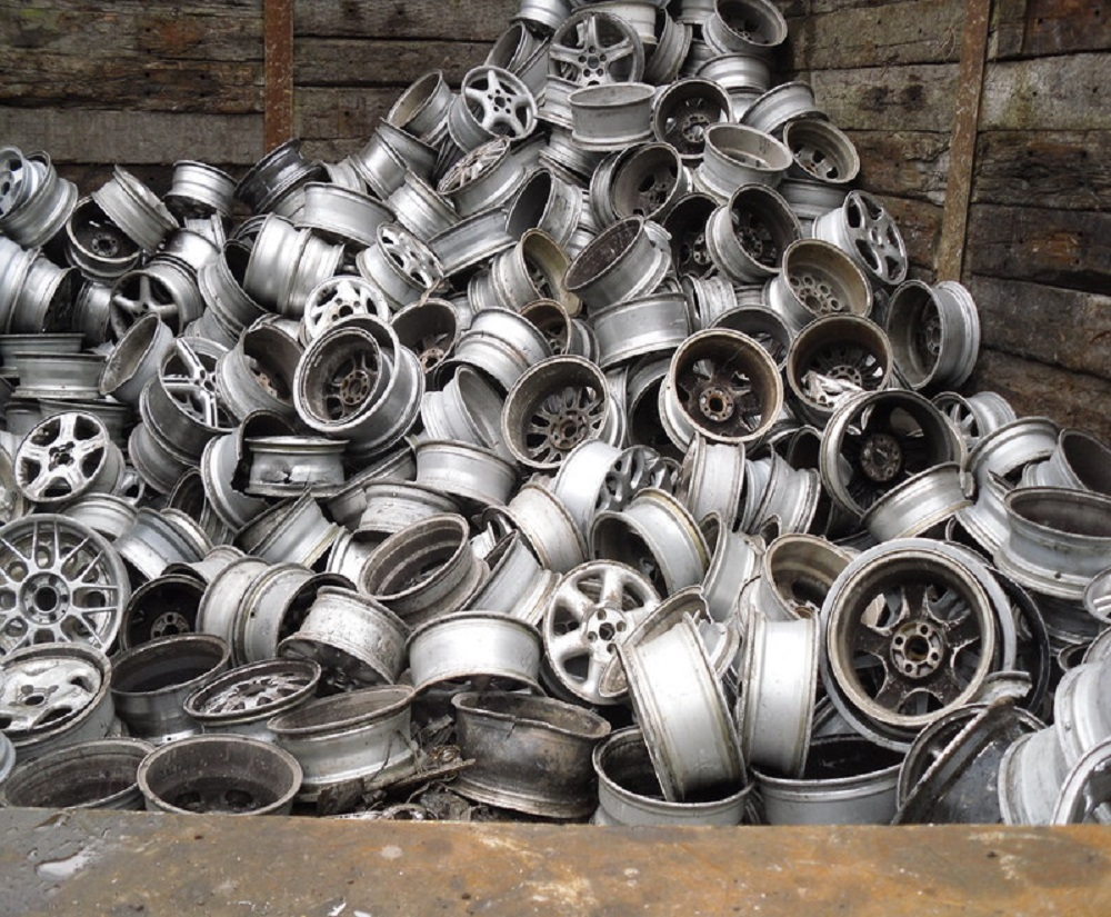 Aluminium Alloy Wheels Scrap (Clean/Shredded) WELL SORTED