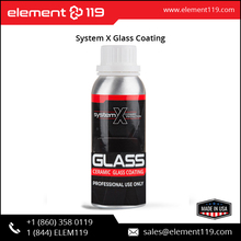 System X Water-Repellent Windshield / Glass Coating