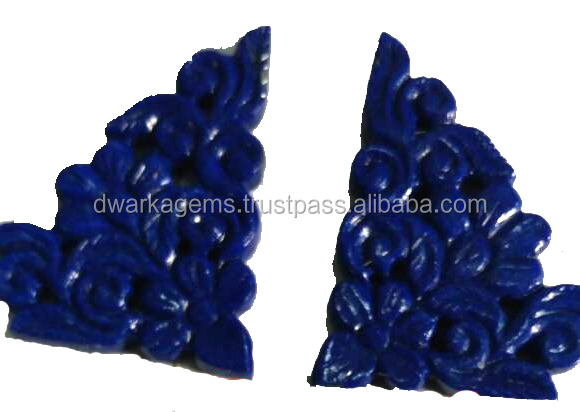 Good quality wholesale lapis lazuli carving natural loose gemstone