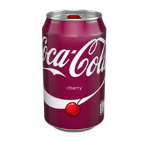 Coca Cola Cherry Cans 330ml