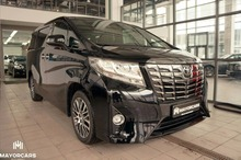 TOYOTA ALPHARD 2017 NEW LHD 3.5 EXECUTIVE LOUNGE WHITE/BLACK - READY FOR EXPORT