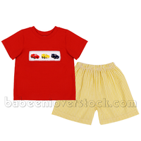 Lovely Smocked Boys Clothes For Wholesale