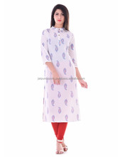 NEW Style Design Cotton Ladies Casual Wear Kurtis
