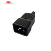 JEC Taiwan High Quality Re-wirable IEC C19 C20 AC Power Plugs male female assembly plug adapter plugs adaptor