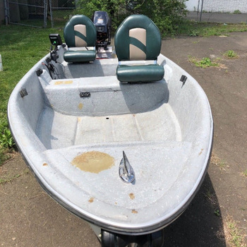 Free Shipping For 1980 Wenzel 14ft Wenzel C-Craft fishing boat