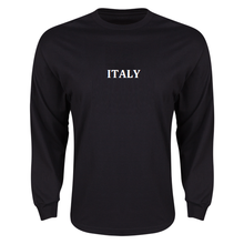 RUGBY INTERNATIONAL ITALY RUGBY LONG SLEEVE rugby Custom long sleeve t shirts bamboo modal organic cotton