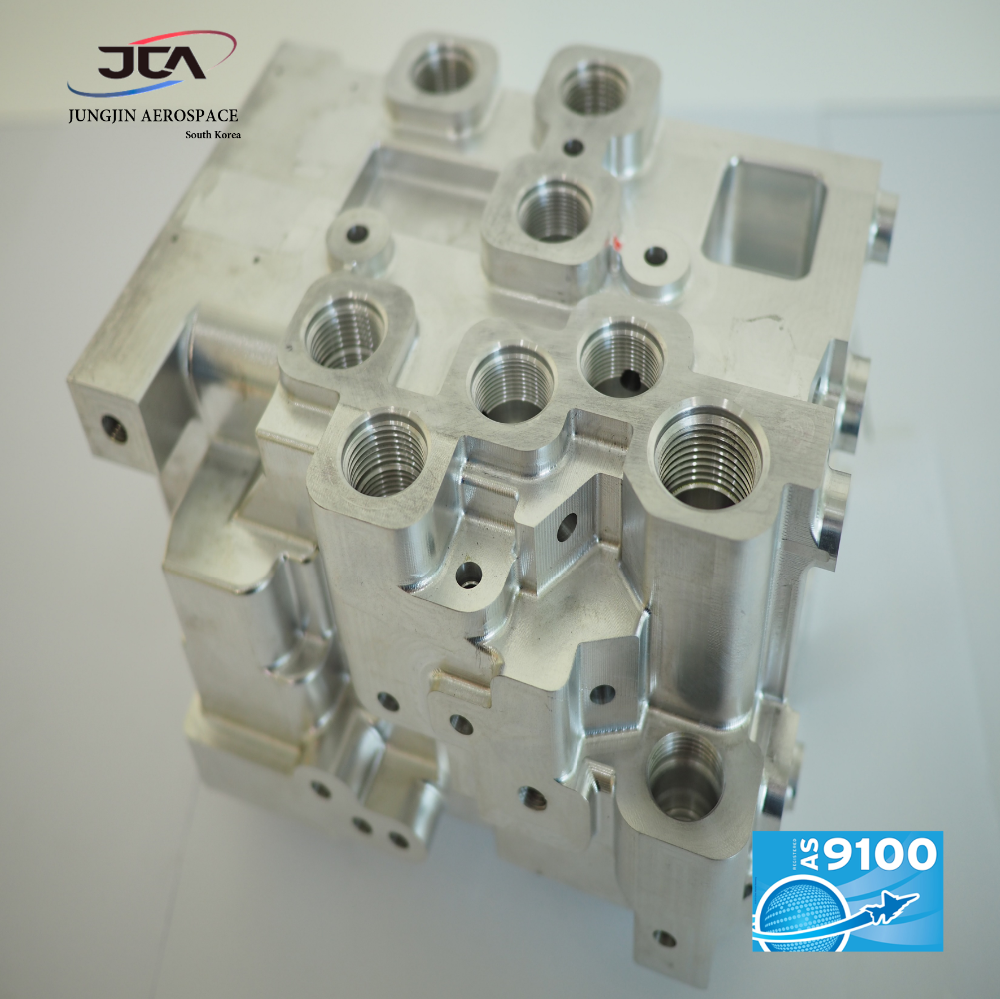 Aerospace Quality; Manifold, Hydraulic parts
